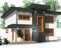 Dom w inwestycji Satori House (kujawsko-pomorskie), budynek Opcja Dom, symbol S01P06