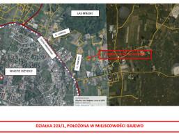 Działka na sprzedaż, Giżycki (pow.) Giżycko (gm.) Gajewo, 150 000 zł, 3341 m2, gc0000875