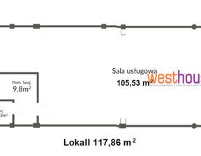 Lokal na sprzedaż, Szczecin Pomorzany, 942 880 zł, 117,86 m2, WTH20687