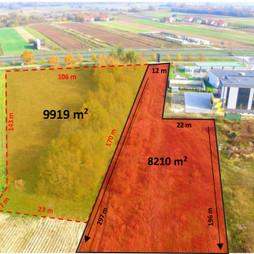 Działka na sprzedaż, Warszawa Wilanów Powsin Przyczółkowa, 8 210 000 zł, 8210 m2, 46-1
